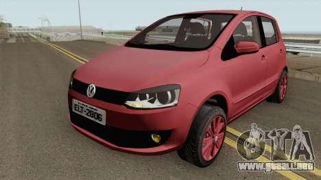Volkswagen Fox 4P 1.0 2014 para GTA San Andreas