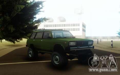 VAZ 2104 en el marco y el motor de la Oise para GTA San Andreas