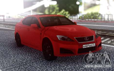 Lexus IS-F 2007 para GTA San Andreas
