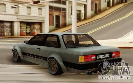 BMW E30 Static Wicked 30s para GTA San Andreas
