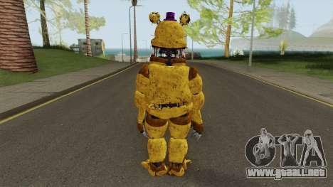 Nightmare Fred Bear V7 para GTA San Andreas
