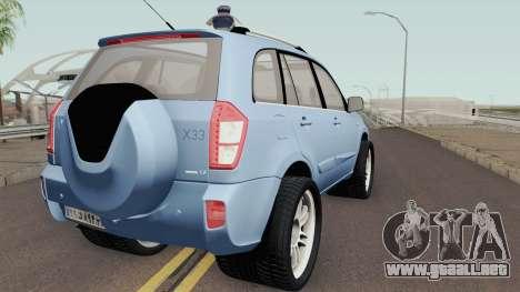 MVM X33 Sport para GTA San Andreas