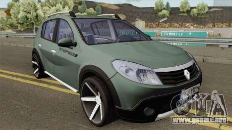 Renault Sandero StepWay para GTA San Andreas