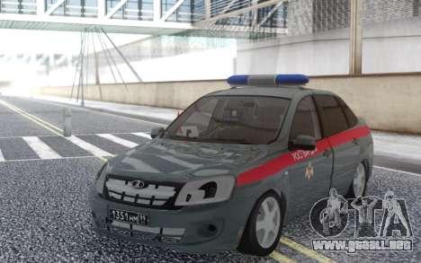 Lada Granta para GTA San Andreas