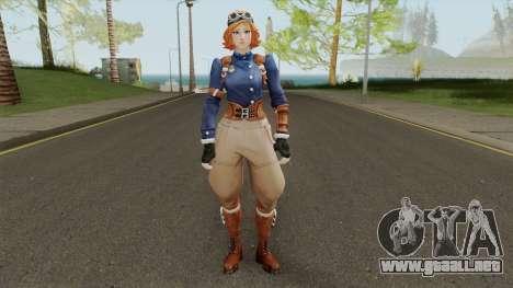 Diesel Punk Female From Fortnite para GTA San Andreas