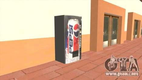 Pepsi Vending Machine 90s para GTA San Andreas