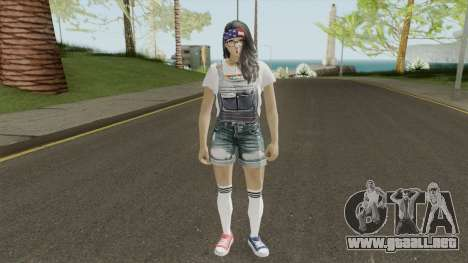 MP Teen Girl para GTA San Andreas