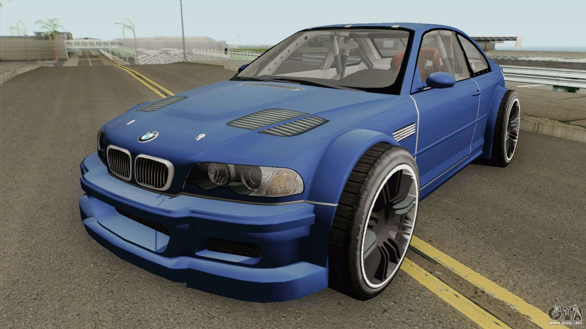 Bmw M3 E46 Gtr Most Wanted 2012 Style V1 2001 Para Gta San Andreas
