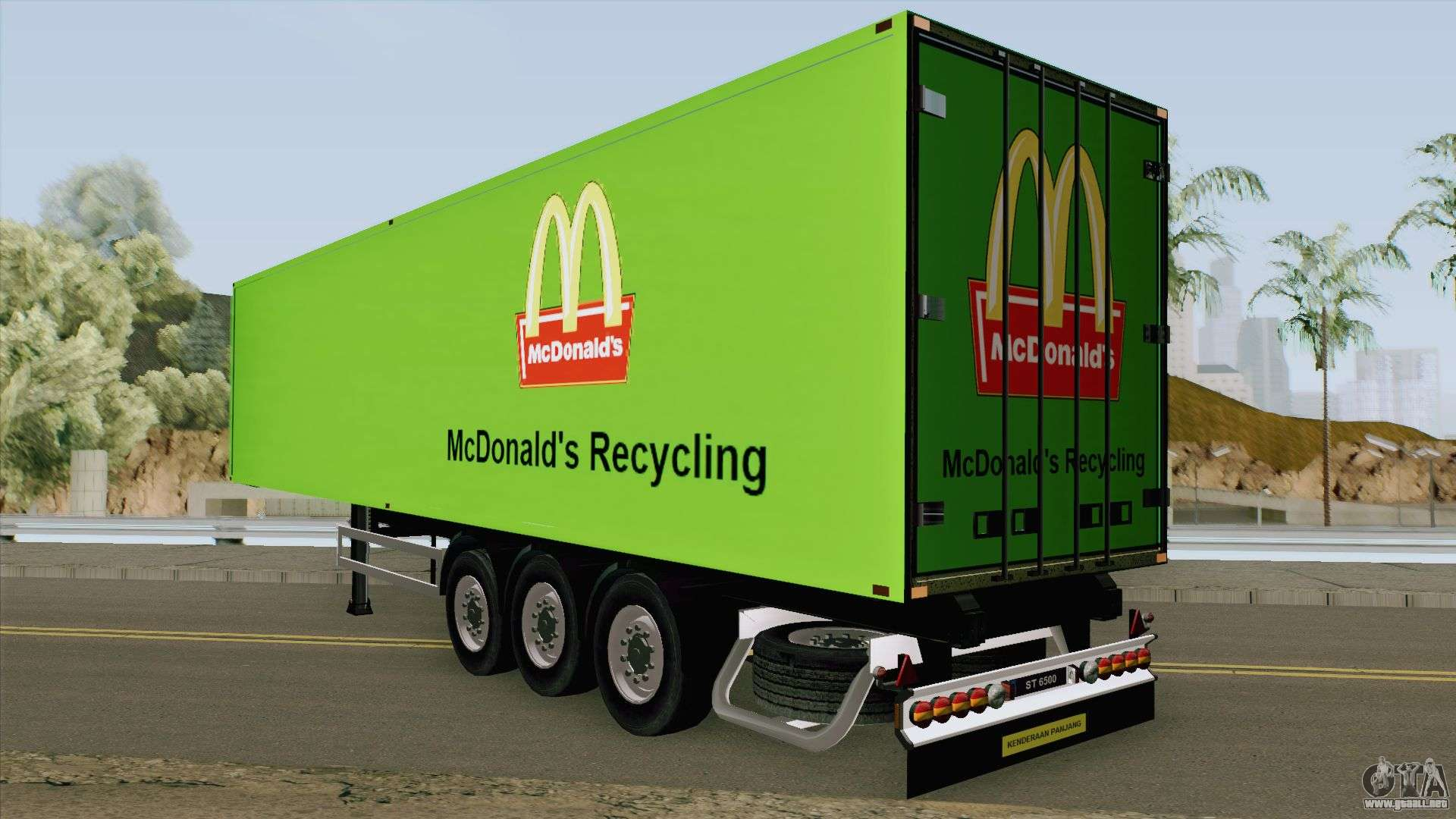 delivery mcdonalds recycles - HD 1920×1080