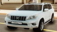 Toyota Land Cruiser Prado White para GTA San Andreas