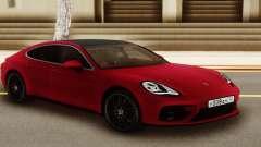 Porshe Panamera Red para GTA San Andreas