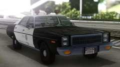 1978 Plymouth Fury Los Angeles Police Departamen