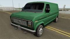 Ford E-150 Normal Improved Version para GTA San Andreas