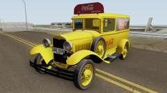 Ford Model A Delivery Van Coca Cola para GTA San Andreas