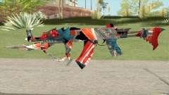 AKM Deep Freeze Bugged para GTA San Andreas