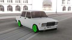 2107 Verde ruedas para GTA San Andreas