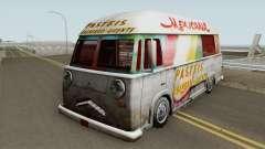 Hotdog Van Lanche Mexicana para GTA San Andreas