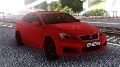Lexus IS-F 2007 Red para GTA San Andreas