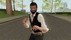 Edward Pierce from Call of Cthulhu Without Coat para GTA San Andreas