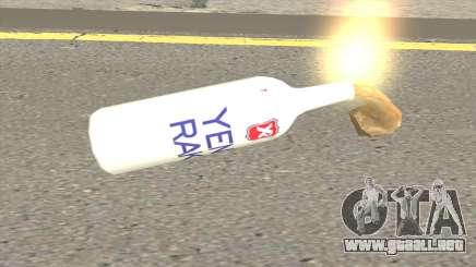 Nueva Molotov Raki para GTA San Andreas