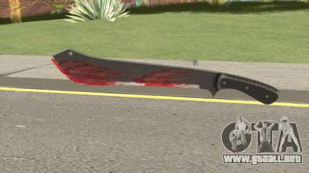 GTA Online Bloody Machete para GTA San Andreas