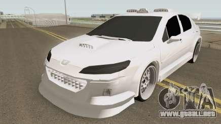 Peugeot 407 T4XI v1 para GTA San Andreas
