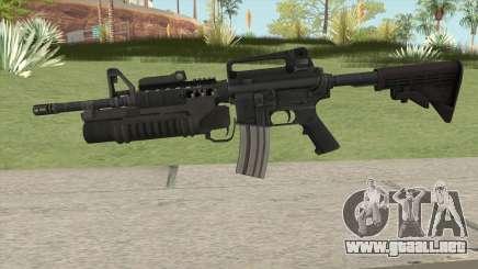 M4 With M203 para GTA San Andreas