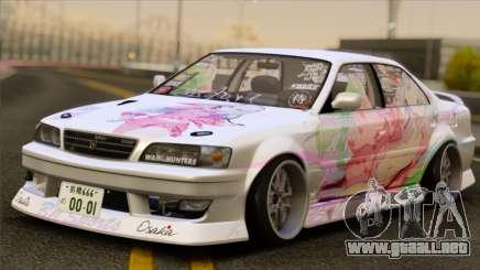 Toyota Chaser Tourer V Paintjob para GTA San Andreas