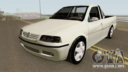 Volkswagen Saveiro G3 Tunable para GTA San Andreas