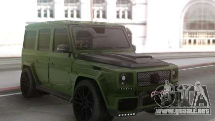 Mercedes-Benz G63 Green para GTA San Andreas