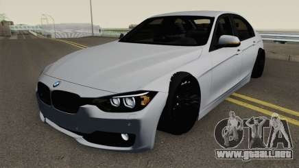 BMW F30 i335 para GTA San Andreas
