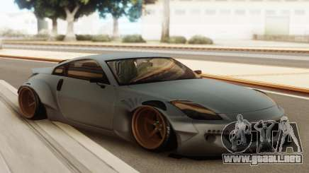 Nissan 350z Rocket Bunny Grey para GTA San Andreas