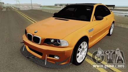 BMW M3 E46 (Fully Tunable and Paintjobs) 2004 v1 para GTA San Andreas