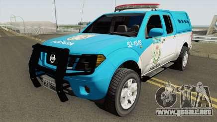 Nissan Frontier PMERJ 2013 para GTA San Andreas
