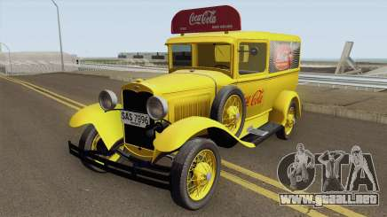 Ford Model A Delivery Van Coca Cola para GTA San Andreas