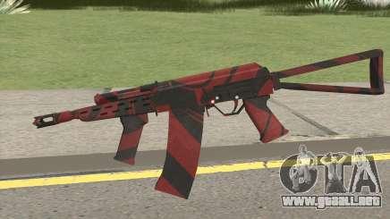 SAIGA-12 RED BLOOD para GTA San Andreas