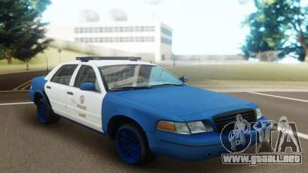 Ford Crown Victoria Classic Police para GTA San Andreas
