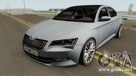 Skoda SuperB 2017 HQ para GTA San Andreas