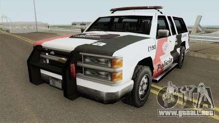 Copcarla Policia SP TCGTABR para GTA San Andreas