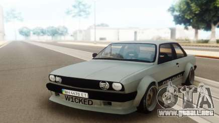 BMW E30 Static Wicked 30s para GTA San Andreas