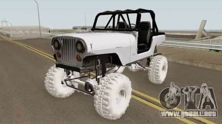 Jeep Renegade CJ7 para GTA San Andreas