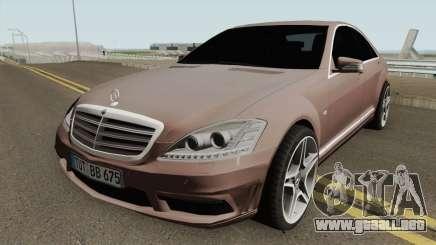 Mercedes-Benz W221 HQ para GTA San Andreas