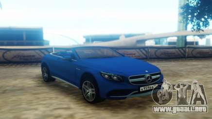 Mercedes-Benz S63 Cabrio para GTA San Andreas