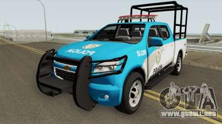 Chevrolet S10 PMERJ Com GAIOLA para GTA San Andreas