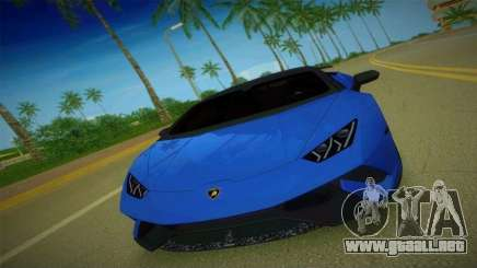 Lamborghini Huracan Performante Spyder para GTA Vice City