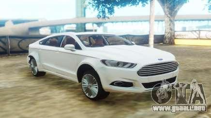 Ford Fusion White para GTA San Andreas