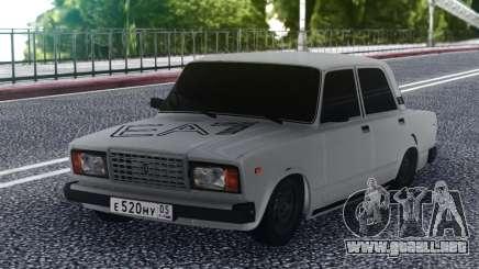 2107 Bajo Blanco para GTA San Andreas