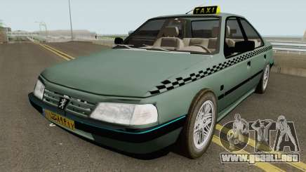 Peugeot 405 GLX TAXI NEW para GTA San Andreas