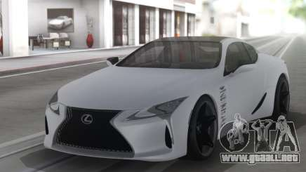 Lexus LC500 Stance para GTA San Andreas