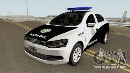 Volkswagen Voyage G6 PCERJ DPCA para GTA San Andreas